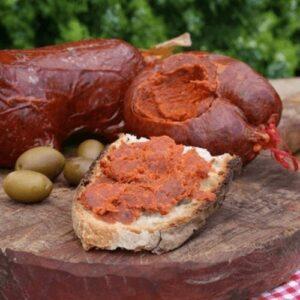 Nduja Spreadable Spicy Salami Sausage 500 gr